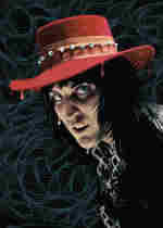 Noel Fielding of The Mighty Boosh